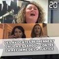 Des avocats en colère reprennent Sardou et Dalida