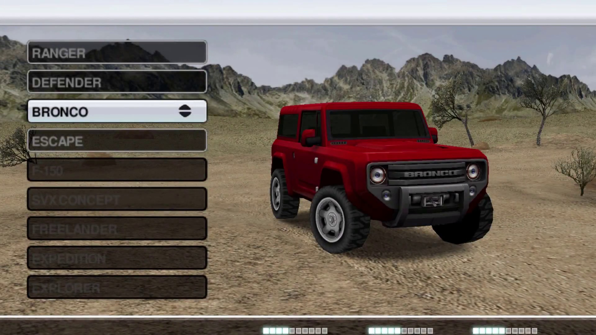 Ford Bronco – Desert Dunes Track (Ford Racing: Off Road)