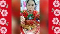 MEOGBANG BJ COMPILATION-CHINESE FOOD-MUKBANG-challenge-Beauty eat strange food-asian food-NO.123