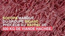 Rappel de lot de viande hachée contaminée par la bactérie E.coli