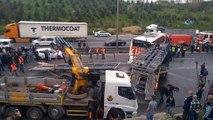 Kocaeli TEM'de zincirleme kaza 3 yaralı