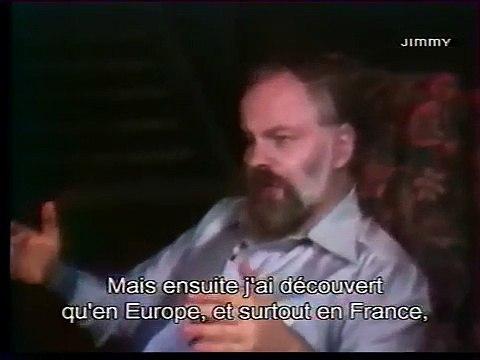 Interview de Philip K Dick à Metz (France) 1977