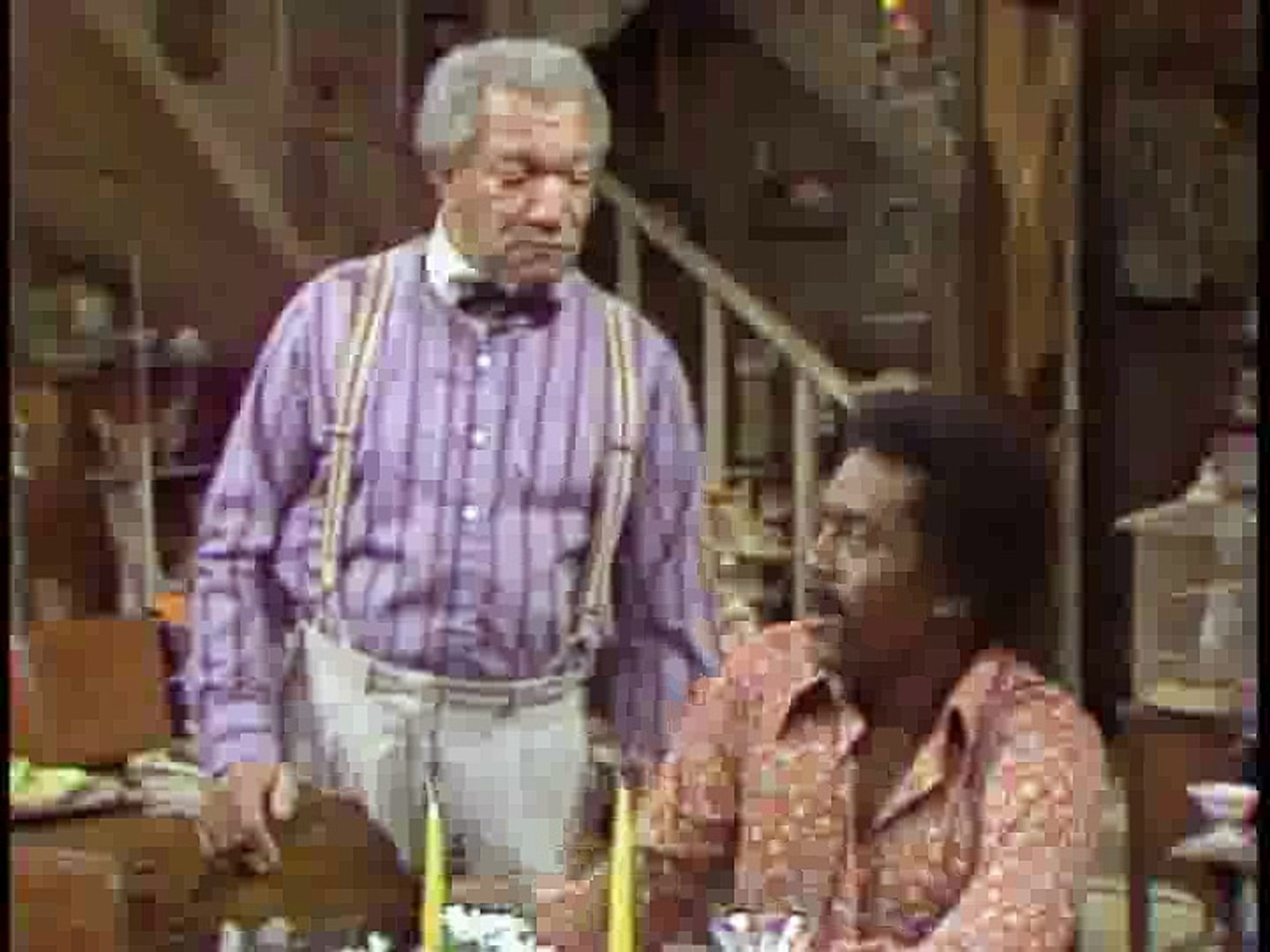 Sanford And Son S02E14 Fred And Carol And Fred And Donna