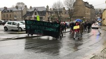 Notre-Dame-des-Landes. Manifestation contre l'évacuation de la Zad