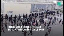 Les CRS interviennent à la fac de Nanterre pour déloger des étudiants