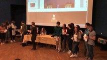 Les lycéens accueillent leurs correspondants italiens