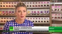 """María Sharápova a RT: """"El mejor regalo de cumpleaños es tener mi deporte de vuelta"""""""