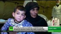 """""""Solo nosotros podemos ayudarles"""": médicos rusos atienden a residentes de la liberada Alepo"""