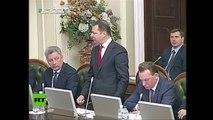 A puñetazos: Nueva pelea en el Parlamento de Ucrania
