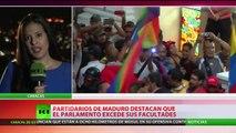 La Asamblea Nacional de Venezuela acusa al Gobierno de Maduro de intentar un 'golpe de Estado'