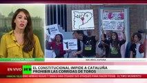 ¿Patrimonio cultural?: Anulan la prohibición de las corridas de toros en Cataluña