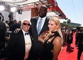Shaq's Voice Cannot Get Voice High Enough To Do A Ric Flair 'Wooo!'