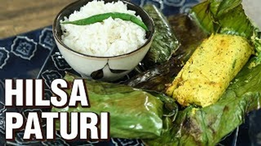 Hilsa Paturi Recipe | How To Make Ilish Paturi | Indian Culinary League | Fish Recipe | Varun