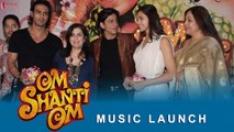 Om Shanti Om | Music Launch | Shah Rukh Khan, Deepika Padukone | A Film by Farah Khan