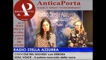 """SOUL VOICE con VIRIA ROMAGNOLI , ospite a """"COCCOLE DEL GIOVEDI'"""" con DEBORA su Radio Stella Azzurra."""