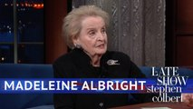 Madeleine Albright Says 'See Something, Say Something, Do Something'