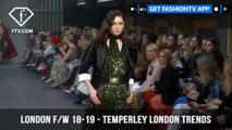 Temperley London Trends London Fashion Week Fall/Winter 2018-19   FashionTV   FTV