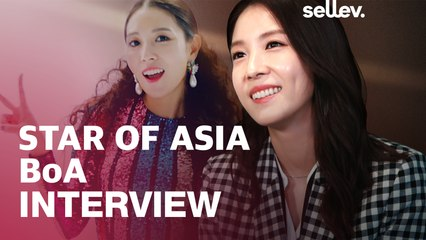 Star of ASIA BoA Interview