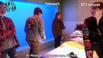 STAFF & BTS FALL IN V TAEHYUNG CUTENESS =)))
