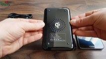 Беспроводная зарядкая Qi для Samsung iPhone X Nokia Lumia Meizu Xiaomi Wireless charger Qi Посылка из Китая Посылка с Aliexpress