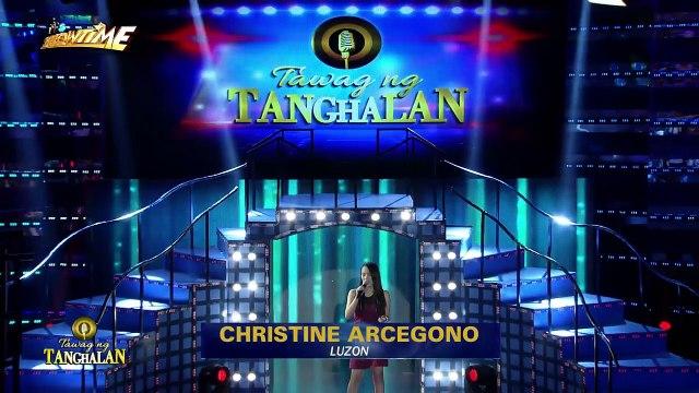 Tawag ng Tanghalan: Christine Arcegono | Luha