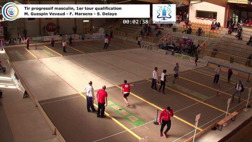 Premier tour de qualification, tir progressif masculin, France Tirs, Coulommiers 2018