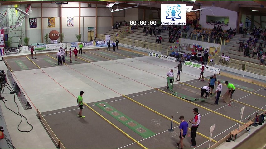 Demi-finales, tir progressif G18, France Tirs, Coulommiers 2018