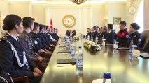 Başbakan Yıldırım, Emniyet Genel Müdürlüğü heyetini kabul etti - ANKARA