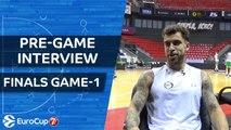 7DAYS EuroCup Finals: pre-game interview, Scottie Wilbekin, Darussafaka Istanbul