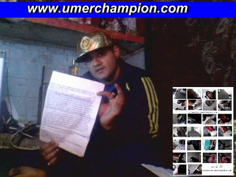 umer israr champion video message  VIDEO 2018 10 April IG  POLICE FIR KI INFORMATION