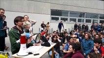 Les étudiants votent la poursuite du blocage sur le campus de l'Esplanade, à Strasbourg