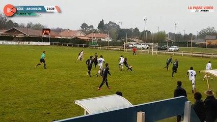 Football National 3 - Lege Cap Ferret - Angouleme  (7 avril 2018)