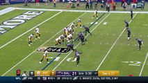 2016 - Ben Roethlisberger finds Eli Rogers down field for 30-yard gain