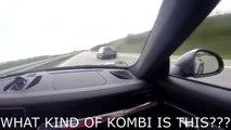 Se faire doubler par une vieille Audi RS4 toute moche alors que tu roules en Porsche 911