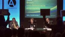 """Dilma Rousseff pide """"solidaridad internacional"""" con Lula"""