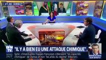 """Syrie: Emmanuel Macron pense à """"cibler les capacités chimiques"""" du régime de Bachar al-Assad"""