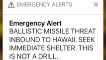 Hawaii Missile Scare Caused By Human Error