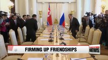 Russia's foreign minister agrees to visit Pyongyang, welcomes current spirit of diplomacy
