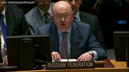 Russian Envoy to the UN: US, UK and France push for World War III