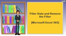 Filter Data and Remove the Filter  I  Microsoft Excel 365