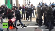 La Policía francesa arresta a 130 personas en las protestas de París