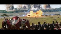 Avengers Infinity War leaked footage Captain America Vs Thanos