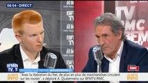 """""""Vous ne connaissez pas le sujet"""", quand Jean-Jacques Bourdin reprend Adrien Quatennens sur la Syrie"""