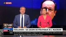 Jean-Luc Mélenchon flingue François Hollande après ses déclarations sur la politique d'Emmanuel Macron