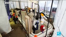 """France: Engineers unveil a new house entirely built by 3-D printers, """"a step forward in green construction"""""""