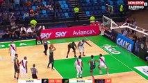 Basket-Ball : L'incroyable feinte d'un joueur brésilien (vidéo)