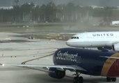 Tornado Swirls Debris at Fort Lauderdale Airport