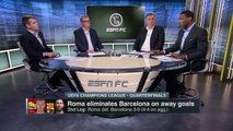ESPN FC TV Full Show 4/11/2018 - Roma def. Barcelona 3-0, Liverpool def. Manchester City 2-1