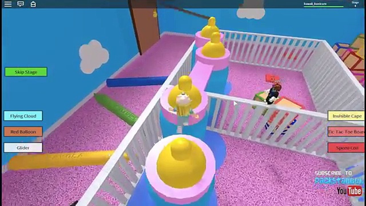 Roblox Escape The Giant Baby Day Care Obby Video Dailymotion