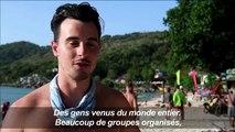 """Dans la baie Maya, pas """"un coin de sable sans touristes"""""""